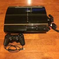 PS3 With one controller, fifa17 and accessories
