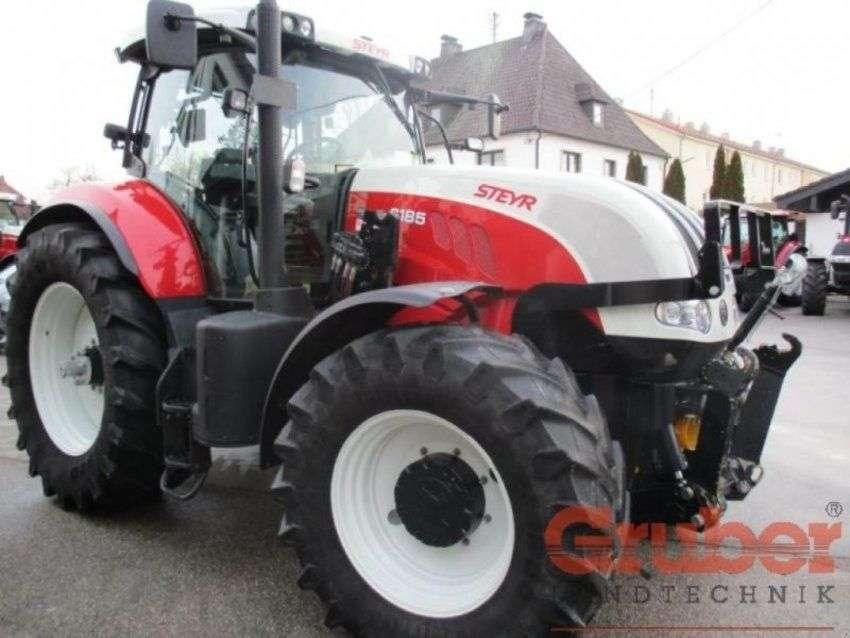 Steyr Cvt 6185 - 2014