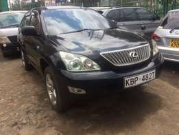 Toyota Harrier 2400cc with Lexus features Leather interior fully loade