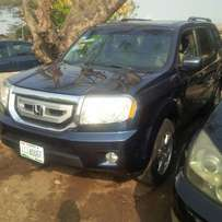 Perfectly used honda pilot 2009 tincan clearer