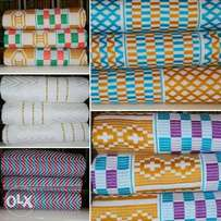 Beautiful Kente Cloth Collection to choose from.