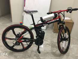State of the art Porsche Electric Mountain bike- not to be missed