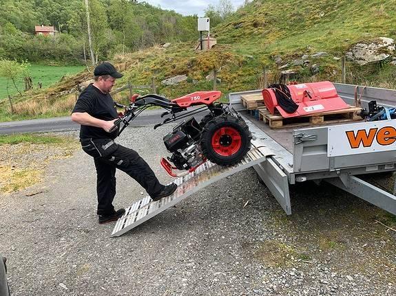 Agro Tohjulstraktor 13 Hk - 2019