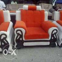 5seater with 7 inch cushions. new