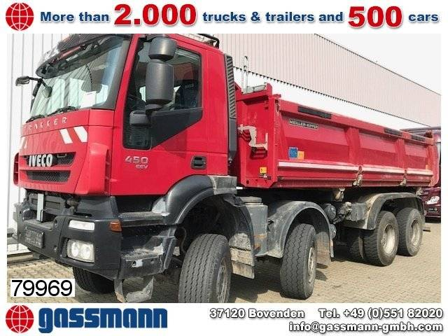 Iveco Trakker AD410T45W  8x8 Bordmatik - 2013