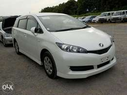 Toyota wish 2010 new 7 seatsmodel value matic, finance terms accepted