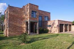 Modern facebrick double-story 5 bedroom home in the heart of Kyalami