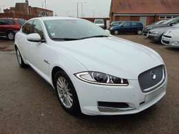 freshly imported jaguar Xf