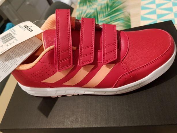 Adidas, adidasy fitness buty damskie, eko skóra Poznań