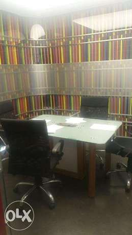 office fully furnished prime location Ref # 1990