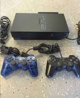 Ps2 fullset with 16gb flash and 5 games