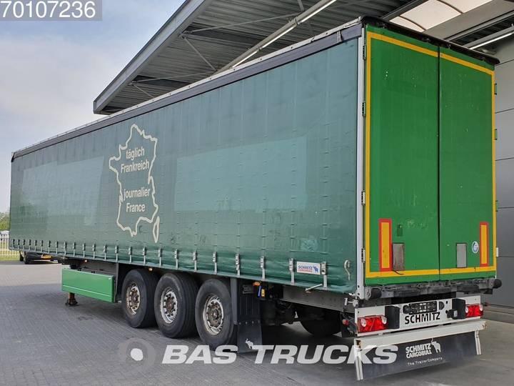 Schmitz Cargobull S01 3 axles Lift+Lenkachse SAF Palettenkasten - 2011