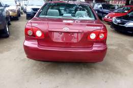 Toyota corolla very clean good to go direct Tokunbo