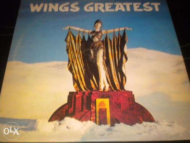 wings greatest vinyl 1978 - Paul McCartney
