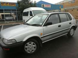 97 toyota conquest 160I fuel injection aircon and power steering