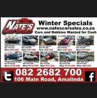 Nate's Car Sales - Winter Specials Now On