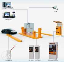 Rfid ticket parking management system