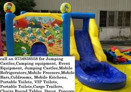 Jumping Castles,Camping equipment,Event Equipment, Mobile Kitchens