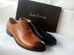 Black/brown foster shoe