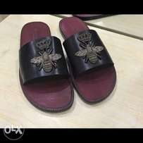 New Dolce And Gabbana Palm Slippers