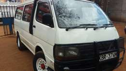 Very clean Toyota Hiace used in tours for sale. Manual transmission