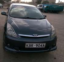 Toyota wish on sale. A very nice and comfy car