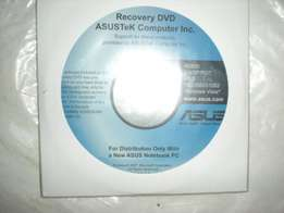 Recovery DVD-ROM ASUSTeK computer inc.