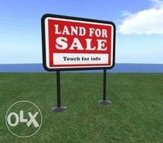 50 acres of land for sale opp. RCCG Youth Center, Lagos Ibadan Express