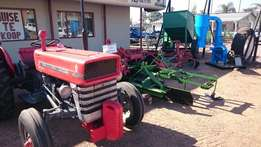 Tractors and Implements For Sale