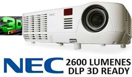 High Definition 3D Projector. Brand New.