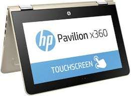 Brand new Hp pavilion X360 convertible laptop at 33000