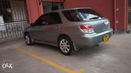 Subaru Impreza 2007 Extremely clean. Ksh. 750,000 with music system