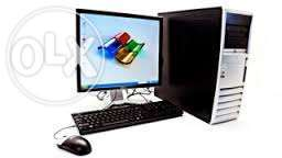 Offer complete desktops dell and HP at 9500 valid when stock last