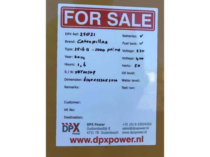 Caterpillar 3516B - 2.250 kVA Generator - DPX-25031 - 2014 - image 24