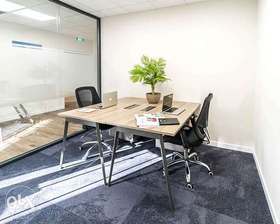 Our Commercial office includes all service for –84BD-only per month!