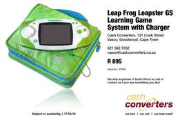 Leap Frog Leapster GS Learning Game System with Charger