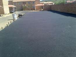 we do quality tar surfacing from scratch and resurfacing from 50 rannd