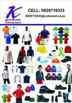 T-shirts and Garments and 24hr printing b/cards and Flyers