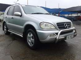 2002 Mercedes Benz ML 320i Automatic