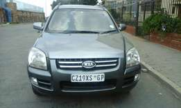 Clean Kia Sportage for sale contact Lucky