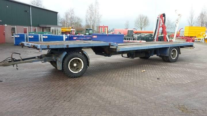 gebruikte transportwagen low loader