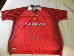 Manchester United 'old school' shirt