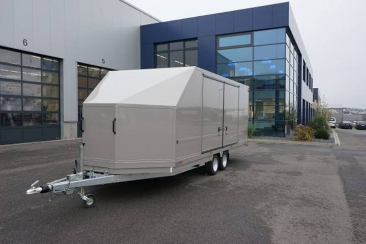 MOETEFINDT Fahrzeugtransporter FTK 235 - 2018