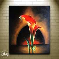 Cool flower painting