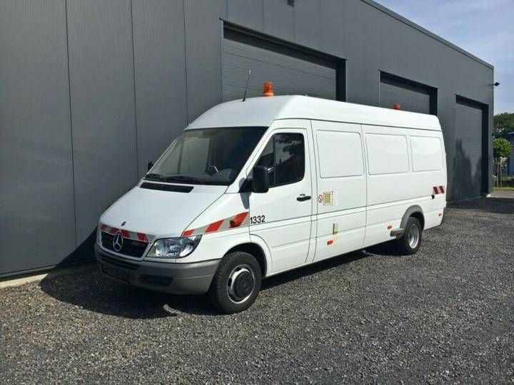 Mercedes-Benz Sprinter 413 Kanal-TV IBAK LISY Kanalinspektion - 2005