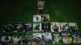 Xbox one games for sale or trade.