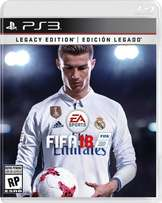 PS3 FIFA 18 Legacy Edition For Both Chipped And Not chipped PS3