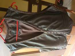 Leather Motorcycle Waistcoat for ladies/gents