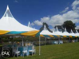 best services tents,tables,chaairs and decor