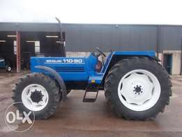 New holland 110-90 cabless